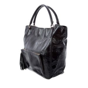 Anya Hindmarch Bags - ANYA HINDMARCH Patent Leather Tote Bag